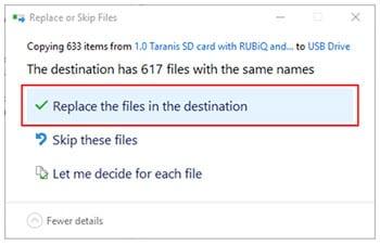 File Transfer via Micro-SD Card Reader | RubiQ